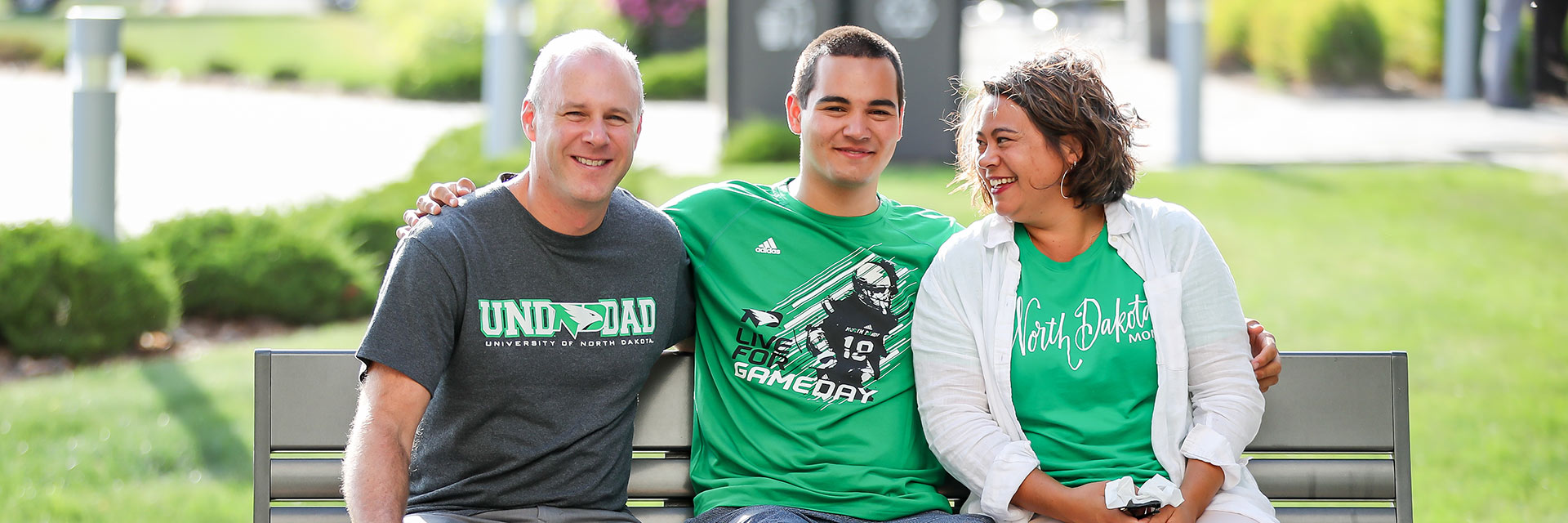 Family at UND