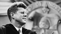 John F. Kennedy visited UND on Sept 25, 1963