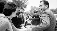 Richard M. Nixon visited UND on three occasions (1960, 1965, 1970)