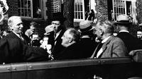 President Franklin D. Roosevelt toured UND on Oct 4, 1937