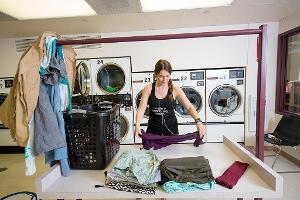 Laundry in residence halls