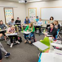 Honor Program classroom