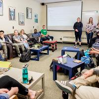 Honors classroom discussion