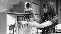 woman in chemical engineering in 60s.
