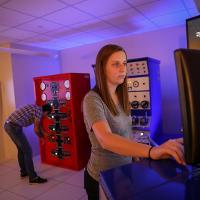 Working in engineering simulators