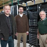 UND faculty in High Performance Computing facility