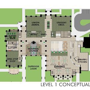 Memorial Union level 1