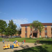 Carleton and Tulane playground area