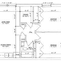 Berkeley Apartment two bedroom layout