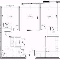 Hamline two bedroom