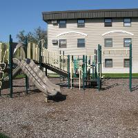 Playground at Swanson complex