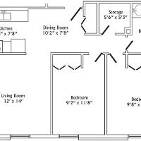 Swanson two bedroom