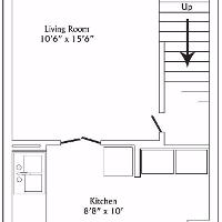 Townhouse first floor layout