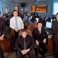 UND's investment group poses