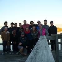 wellness students at lake bronson
