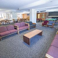 Walsh Hall Lounge and gaming area