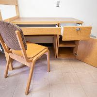 Walsh Hall desk and chair