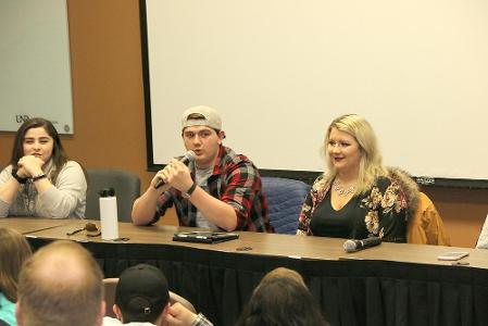 College students panel