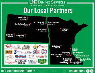 Out local partners throughout the region