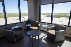 lounge and seating space at wings
