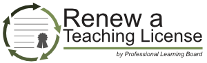 Renew a Teaching License