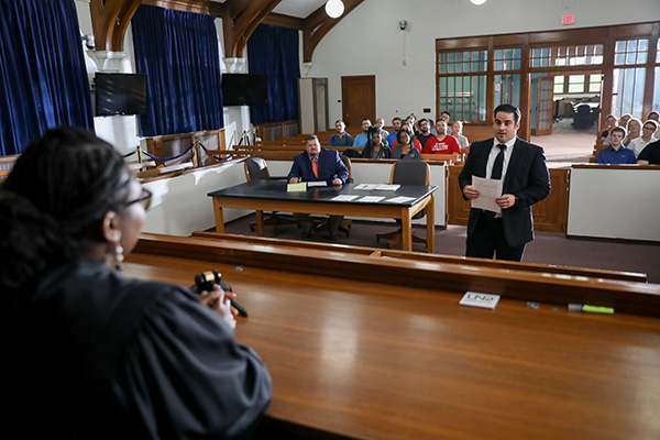 UND law school court room