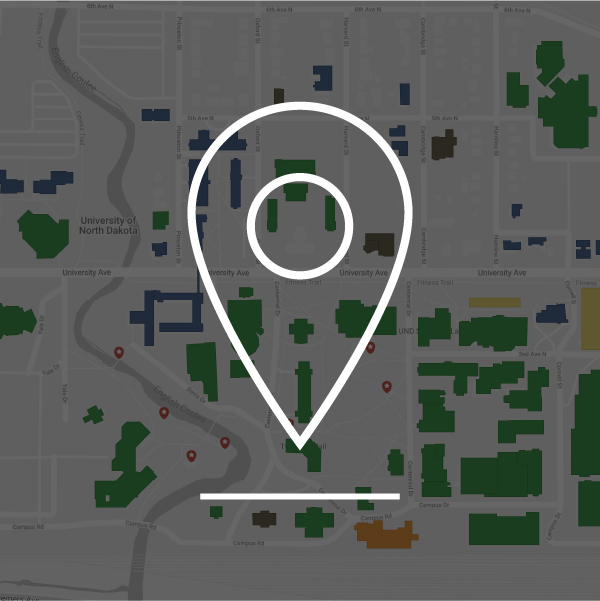 google map of campus