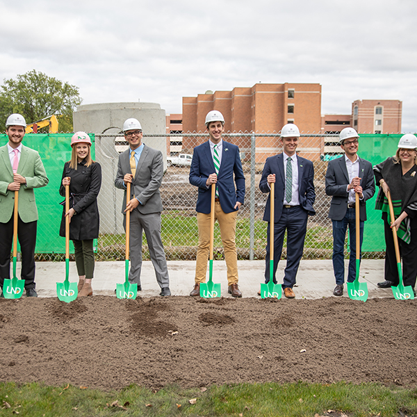 memorial union groundbreaking ceremony
