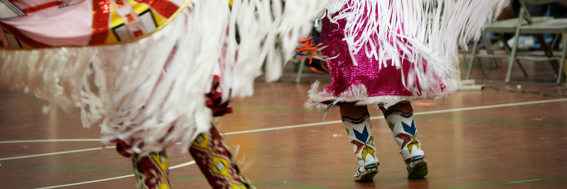 American Indian dancers at TimeOut
