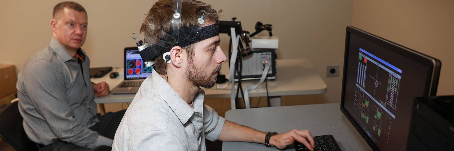 tracking brain movements in psychology study