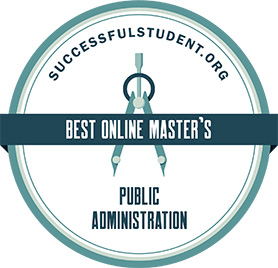 Best Online Master's Badge
