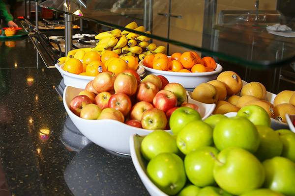 fresh fruit on display